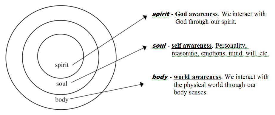 Spiritual Anatomy Of A Christian